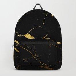 Golden Marble Backpack