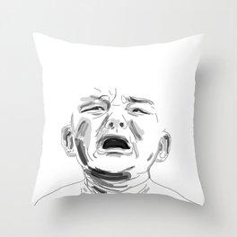 Sob Throw Pillow