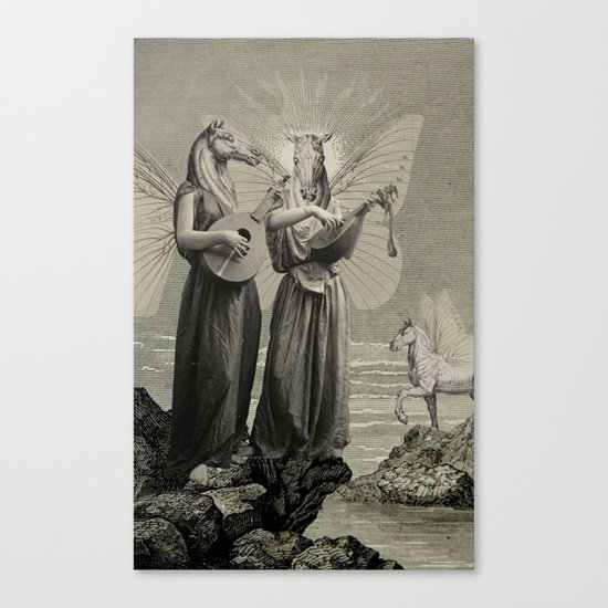 PEGASUS AND OTHERS Canvas Print