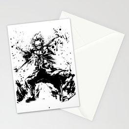 Kirishima Eijiro Ink Splatter Stationery Cards
