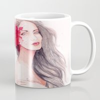 gemini Mugs featuring Gemini by Annarki