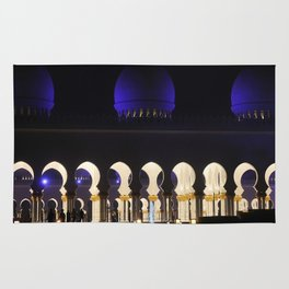 Sheikh Zayed Grand Mosque Entrance Rug