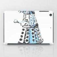 dalek iPad Cases featuring Dalek Graffiti by spacemonkey89