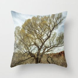 Cottonwood by Oak Creek Throw Pillow