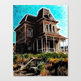 Magical Psycho Haunted House Canvas Print