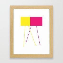 Feet III Framed Art Print