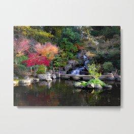 Kyoto Garden, Holland Park, London Metal Print