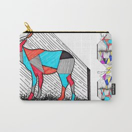 A wounded deer leaps the highest Carry-All Pouch