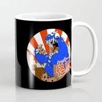 kaiju Mugs featuring Kookie Kaiju by Joel Jackson