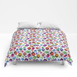 Rosebuds pattern Comforters
