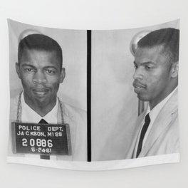 John Lewis - Black Culture - Black History Wall Tapestry