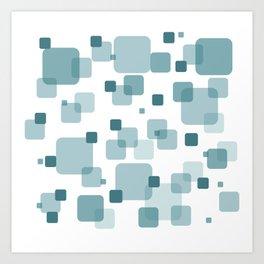 Turquoise Box Art Print