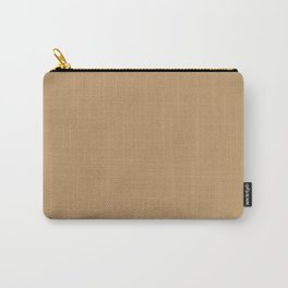 Wood Brown Carry-All Pouch