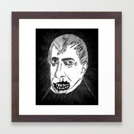 09. Zombie William Harrison  Framed Art Print