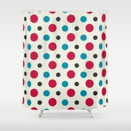 Like a Leaf [spots] Shower Curtain
