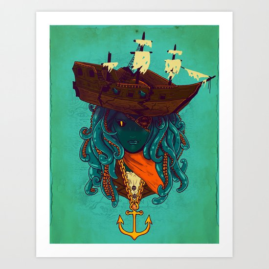 The Bride of Neptune Art Print