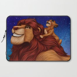 Lion King: Whenever You Feel Alone... Laptop Sleeve