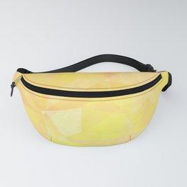 Yellow orange polygonal Fanny Pack