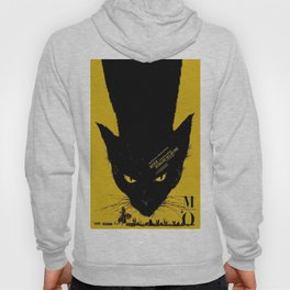 Vintage poster - Black Cat Hoody