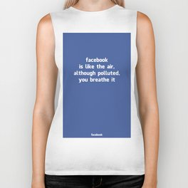 Poster Facebook Biker Tank