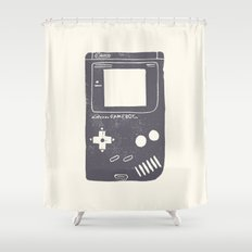 Game Boy Shower Curtain