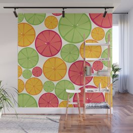 For The Love of Citrus Wall Mural
