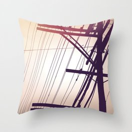 SP wires 4 Throw Pillow