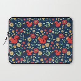 Let's go nuts! - Surface Pattern Design - ByBeck Laptop Sleeve