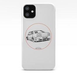 Crazy Car Art 0215 iPhone Case