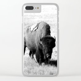 Big Daddy On His Range Clear iPhone Case