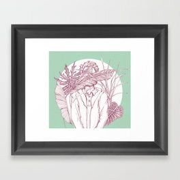 Creatures with no eyes Framed Art Print