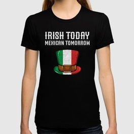 St Patricks Day Irish Italian Funny Paddy Gift T-shirt