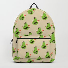 Pear-ate a.k.a The Angry Pirate Backpack