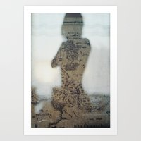 middle earth Art Prints featuring Middle Earth by Karen