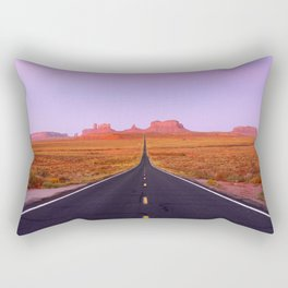U.S. Highway 163 - Monument Valley, Utah Rectangular Pillow