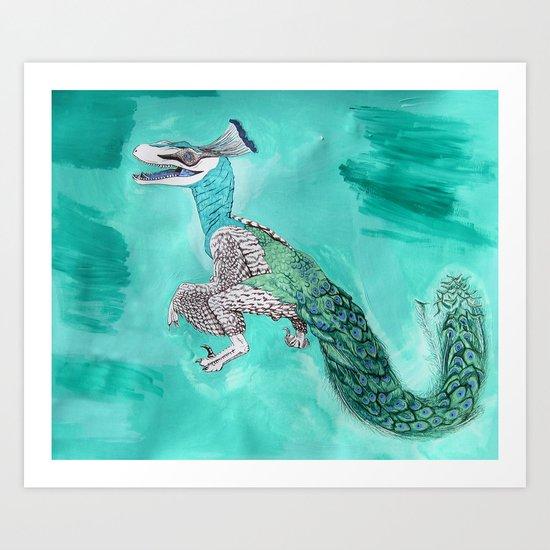 Velocicock  Art Print