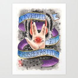 Live Long, and Prosper Art Print