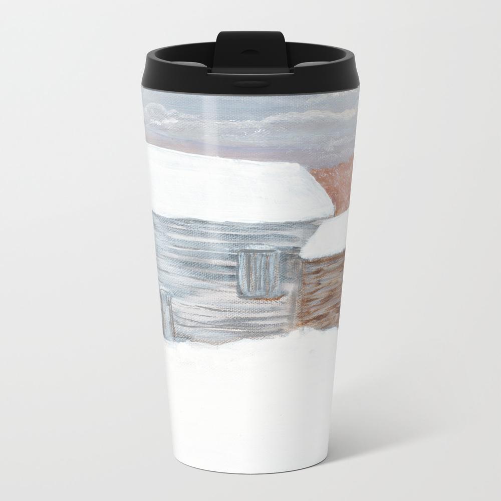Barns Of Rensselaer County 2 Metal Travel Mug by Sherwillow MTM8795076