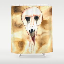 drops dripping Shower Curtain