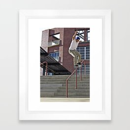 50-50 Framed Art Print