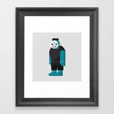Frankenstein / Jason Framed Art Print