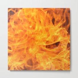 The Warm Fire 2 Metal Print