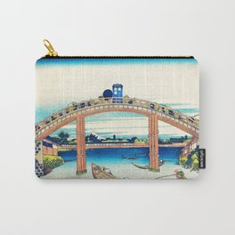 Tardis At The Bridge Carry-All Pouch