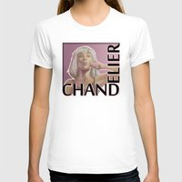 chandelier T-shirts featuring Chandelier (sketch) by rnlaing