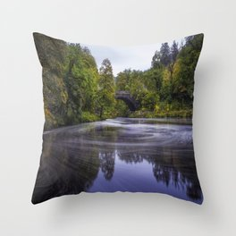 Autumn Betws y Coed Throw Pillow
