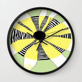 FLOWERY  PHOEBE / ORIGINAL DANISH DESIGN bykazandholly Wall Clock