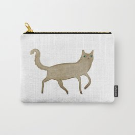 Suspicious-Looking Moggy Carry-All Pouch