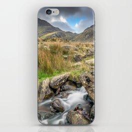 Tryfan Mountain River iPhone Skin