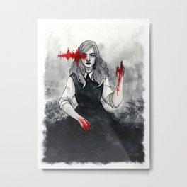 x See No Evil x Metal Print
