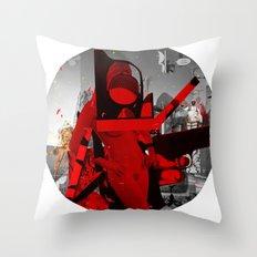 Essence Of Life · Transfer & Dream · Crop Circle bw Throw Pillow